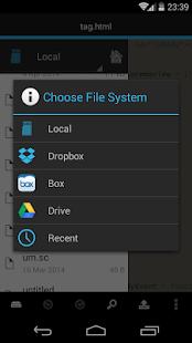 DroidEdit free code editor v1.23.6 screenshots 4