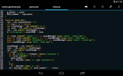 DroidEdit free code editor v1.23.6 screenshots 8