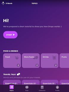 Drops Language Learning – A Kahoot Game v35.82 screenshots 14