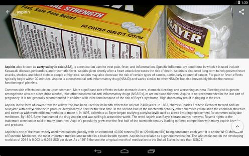Drugs Dictionary Free v3.7.7 screenshots 10