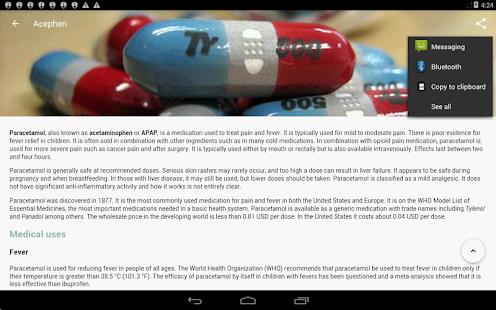 Drugs Dictionary Free v3.7.7 screenshots 21