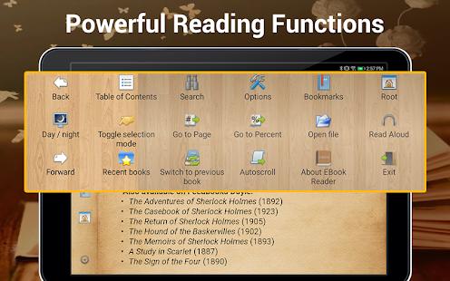 EBook Reader amp Free ePub Books v3.6.1 screenshots 10