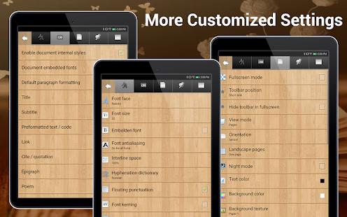 EBook Reader amp Free ePub Books v3.6.1 screenshots 11