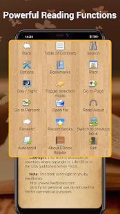 EBook Reader amp Free ePub Books v3.6.1 screenshots 3