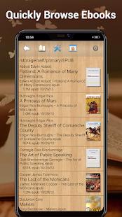 EBook Reader amp Free ePub Books v3.6.1 screenshots 4
