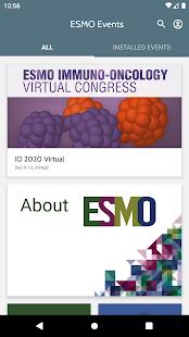ESMO Events v7.5 screenshots 1