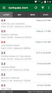 Earthquake Alert v3.0.4 screenshots 1