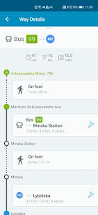 EasyWay public transport v5.0.0 screenshots 7