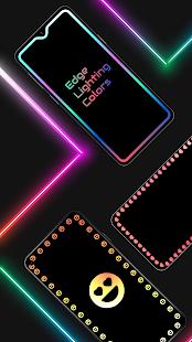Edge Lighting Colors – Round Colors Galaxy v10.0 screenshots 1
