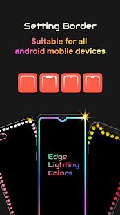 Edge Lighting Colors – Round Colors Galaxy v10.0 screenshots 5