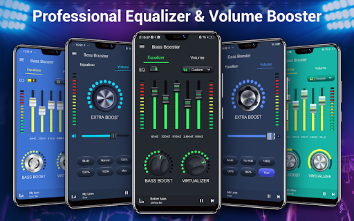 Equalizer — Bass Booster amp Volume EQ ampVirtualizer v1.7.2 screenshots 1
