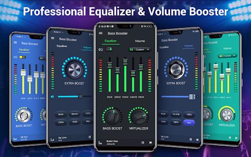 Equalizer — Bass Booster amp Volume EQ ampVirtualizer v1.7.2 screenshots 11