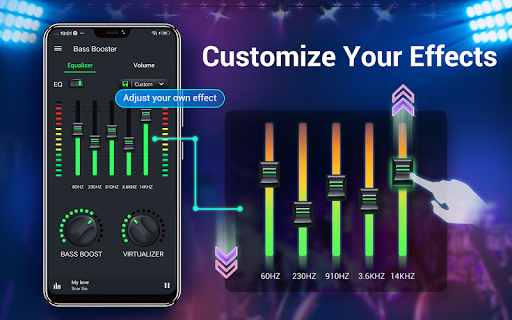 Equalizer — Bass Booster amp Volume EQ ampVirtualizer v1.7.2 screenshots 12