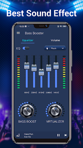 Equalizer — Bass Booster amp Volume EQ ampVirtualizer v1.7.2 screenshots 4