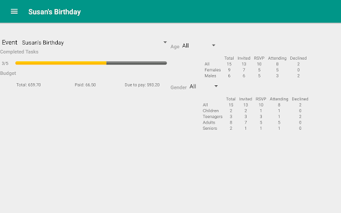 Event Planner Party Planning v1.1.6 screenshots 10