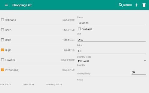 Event Planner Party Planning v1.1.6 screenshots 11