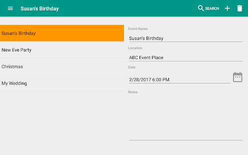 Event Planner Party Planning v1.1.6 screenshots 14