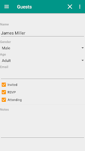 Event Planner Party Planning v1.1.6 screenshots 4