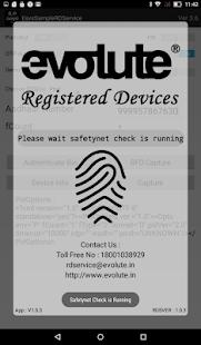 Evolute RD Service v1.0.8 screenshots 2