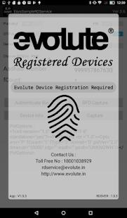 Evolute RD Service v1.0.8 screenshots 5