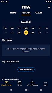 FIFA – Tournaments Soccer News amp Live Scores v5.0.2 screenshots 5