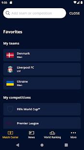 FIFA – Tournaments Soccer News amp Live Scores v5.0.2 screenshots 8