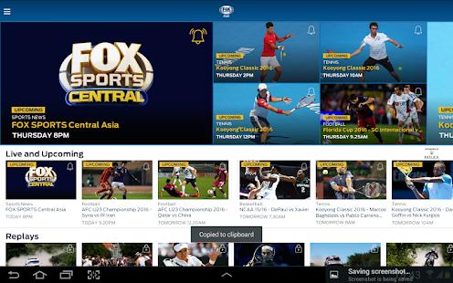 FOX Sports Asia v3.6.14 screenshots 14