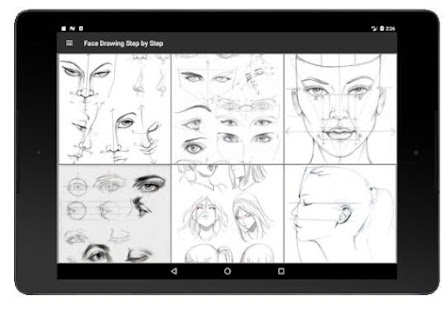 Face Drawing Step by Step v1.3.0 screenshots 11