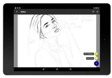 Face Drawing Step by Step v1.3.0 screenshots 12