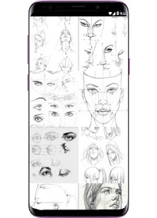 Face Drawing Step by Step v1.3.0 screenshots 2