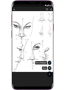 Face Drawing Step by Step v1.3.0 screenshots 3