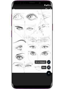 Face Drawing Step by Step v1.3.0 screenshots 4