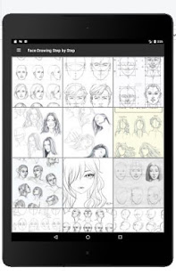 Face Drawing Step by Step v1.3.0 screenshots 5