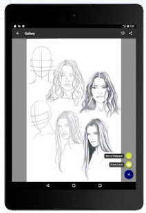 Face Drawing Step by Step v1.3.0 screenshots 8