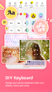Facemoji Emoji KeyboardDIY Emoji Keyboard Theme v2.8.6.1 screenshots 1