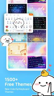 Facemoji Emoji KeyboardDIY Emoji Keyboard Theme v2.8.6.1 screenshots 3