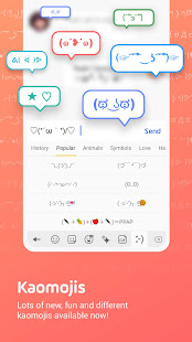 Facemoji Emoji KeyboardDIY Emoji Keyboard Theme v2.8.6.1 screenshots 5