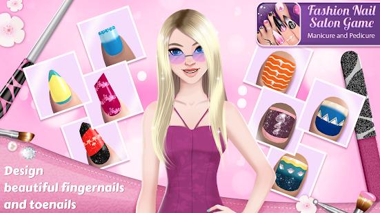 Fashion Nail Salon Game Manicure and Pedicure App v3.0.1 screenshots 1