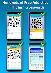 Fill in puzzles free – Free Word Puzzle Game v7.7 screenshots 1