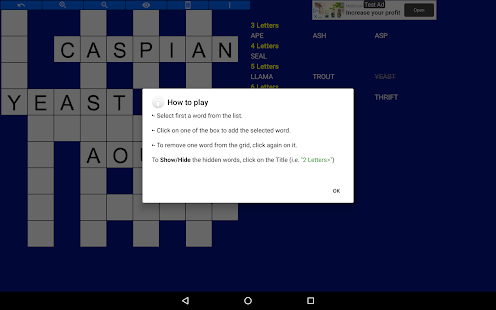 Fill in puzzles free – Free Word Puzzle Game v7.7 screenshots 20