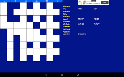 Fill in puzzles free – Free Word Puzzle Game v7.7 screenshots 21
