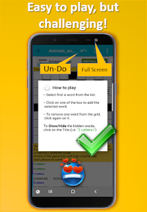 Fill in puzzles free – Free Word Puzzle Game v7.7 screenshots 4