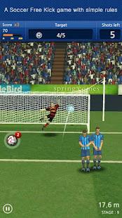 Finger soccer Football kick v1.0 screenshots 1