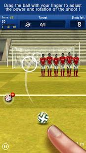 Finger soccer Football kick v1.0 screenshots 2