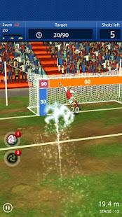 Finger soccer Football kick v1.0 screenshots 8