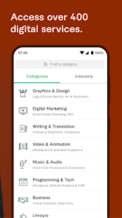 Fiverr Find Any Freelance Service You Need v3.4.3.1 screenshots 4