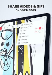 Flipaclip Cartoon Animation Creator amp Art Studio v2.5.4 screenshots 10