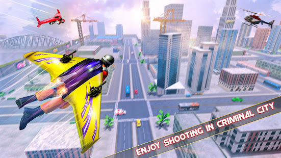 Flying Jetpack Hero Crime 3D Fighter Simulator v2.1 screenshots 12