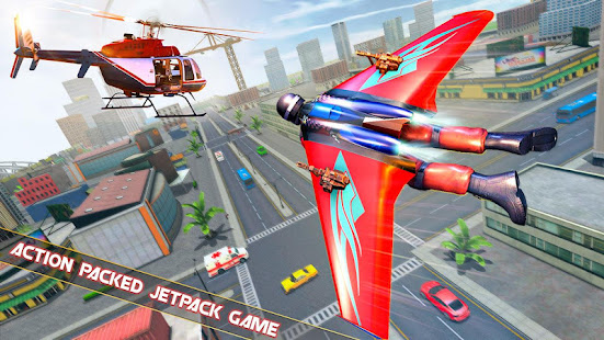 Flying Jetpack Hero Crime 3D Fighter Simulator v2.1 screenshots 9