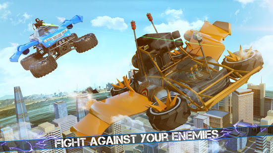 Flying Robot Monster Truck Battle 2019 v screenshots 11